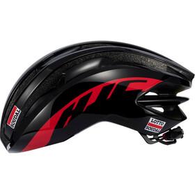 HJC IBEX Road casco per bici rosso/nero